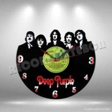 Discos de vinilo: RELOJ DE DISCO LP DE DEEP PURPLE. Lote 253562875