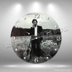 Discos de vinilo: RELOJ DE DISCO LP DE ERIC CLAPTON. Lote 259873300
