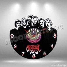 Discos de vinilo: RELOJ DE DISCO LP DE GRATEFUL DEAD. Lote 208691680