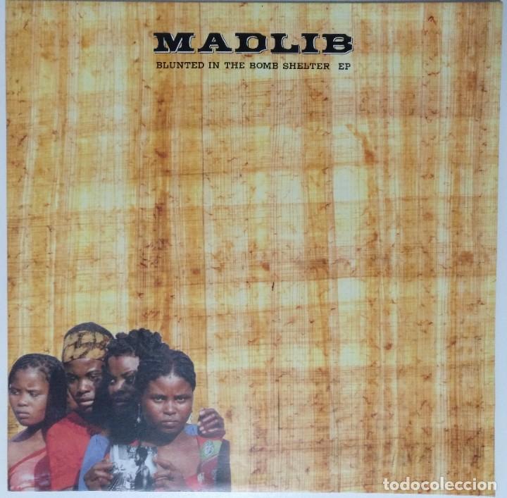 """MADLIB - BLUNTED IN THE BOMB SHELTER [ US HIP HOP / RAP EDICIÓN EXCLUSIVA ] [EP 12"""" 45RPM] [[2002]] (Música - Discos de Vinilo - EPs - Rap / Hip Hop)"""