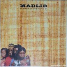 """Discos de vinilo: MADLIB - BLUNTED IN THE BOMB SHELTER [ US HIP HOP / RAP EDICIÓN EXCLUSIVA ] [EP 12"""" 45RPM] [[2002]]. Lote 208692055"""