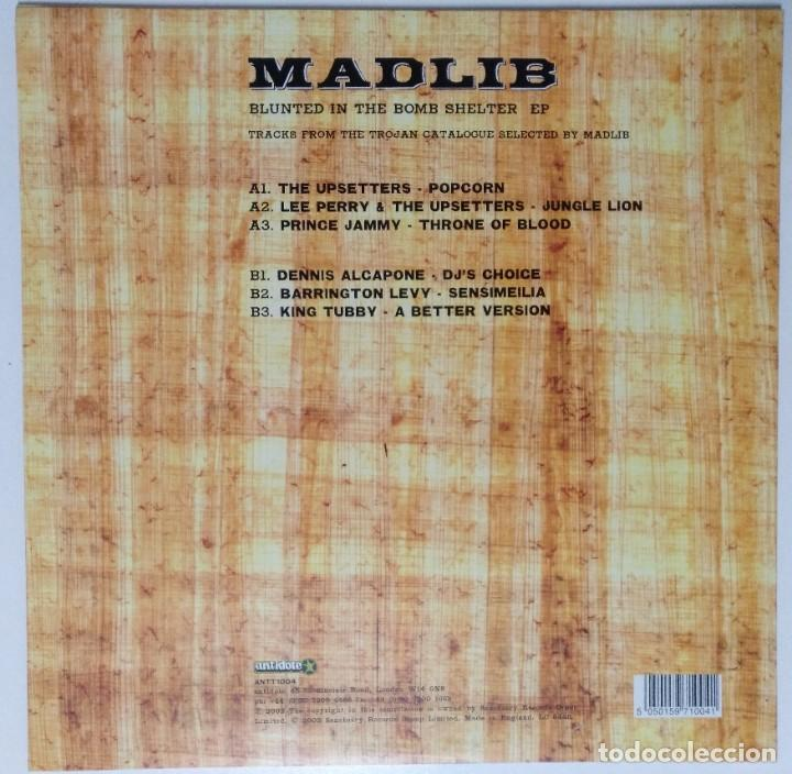 """Discos de vinilo: MADLIB - BLUNTED IN THE BOMB SHELTER [ US HIP HOP / RAP EDICIÓN EXCLUSIVA ] [EP 12"""" 45RPM] [[2002]] - Foto 2 - 208692055"""