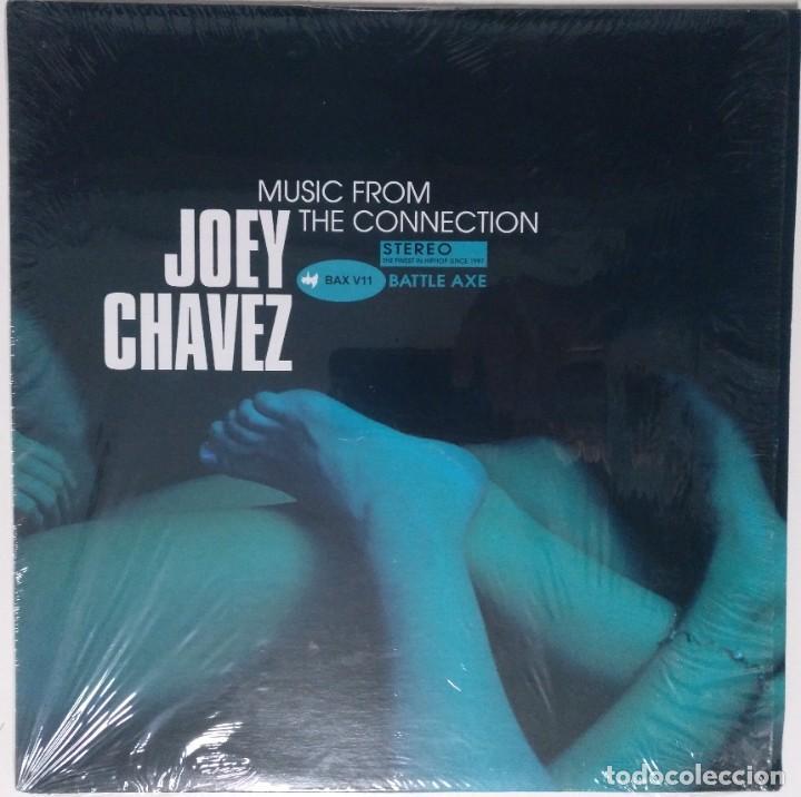 "JOEY CHAVEZ - MUSIC FROM THE CONNECTION [US HIP HOP / RAP EDICIÓN EXCLUSIVA] [EP 12"" 45RPM] [[2001]] (Música - Discos de Vinilo - EPs - Rap / Hip Hop)"