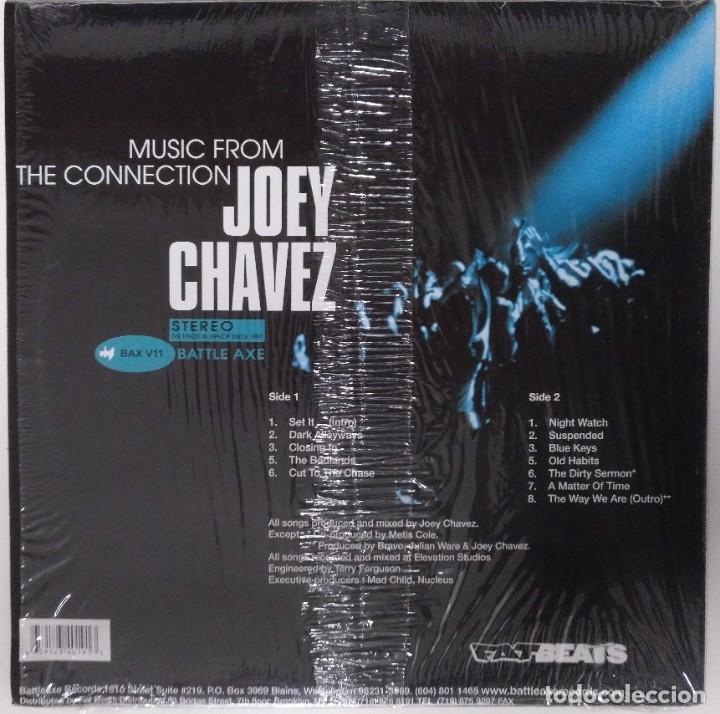 "Discos de vinilo: JOEY CHAVEZ - MUSIC FROM THE CONNECTION [US HIP HOP / RAP EDICIÓN EXCLUSIVA] [EP 12"" 45RPM] [[2001]] - Foto 2 - 208692338"