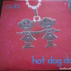 Discos de vinilo: CUB - HOT DOG DAY - SN - EDICION CANADIENSE DEL AÑO 1993 EN VINILO ROJO. 6 TEMAS.. Lote 208692545