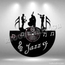 Discos de vinilo: RELOJ DE DISCO LP DE JAZZ. Lote 253564120