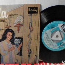 Discos de vinilo: DALIDA LES ENFANTS DU PIREE + 3 EP ESPAÑA. Lote 208692580