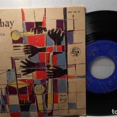 Discos de vinilo: FRANCIS BAY Y SU ORQUESTA TEQUILA + 3 EP ESPAÑA 1958. Lote 208692796