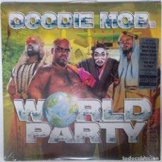 """Discos de vinilo: GOODIE MOB - WORLD PARTY [[ US HIP HOP / RAP EDICIÓN EXCLUSIVA ]] [2LP 12"""" 33RPM] [[1999]]. Lote 208692800"""