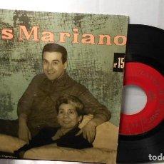 Discos de vinil: LUIS MARIANO MAMA LA MAS BELLA DEL MUNDO + 3 EP ESPAÑA 1958. Lote 208693183