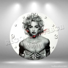Discos de vinilo: RELOJ DE DISCO LP DE MADONNA. Lote 220746787