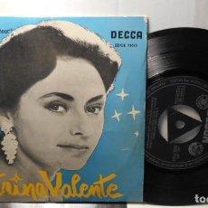 Discos de vinil: CATERINA VALENTE PASSION FLOWER+ 3 EP ESPAÑA 1959. Lote 208693320