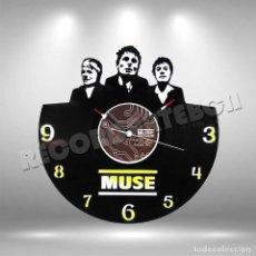Discos de vinilo: RELOJ DE DISCO LP DE MUSE. Lote 208693700