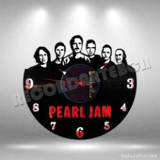 Discos de vinilo: RELOJ DE DISCO LP DE PEARL JAM. Lote 208693846