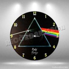 Discos de vinilo: RELOJ DE DISCO LP DE PINK FLOYD. Lote 253564200
