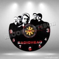 Discos de vinilo: RELOJ DE DISCO LP DE RADIOHEAD. Lote 208694130