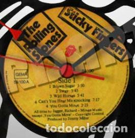 Discos de vinilo: Reloj de Disco LP de The Rolling Stones 2 - Foto 2 - 208694586
