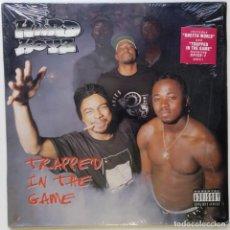 """Discos de vinilo: THE HARD BOYZ - TRAPPED IN THE GAME [ US HIP HOP / RAP EDICIÓN EXCLUSIVA ]] [2LP 12"""" 33RPM] [[1996]]. Lote 208693431"""
