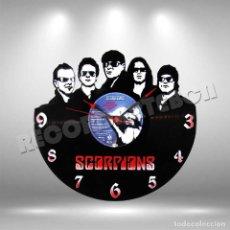 Discos de vinilo: RELOJ DE DISCO LP DE SCORPIONS. Lote 208695080