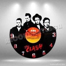 Discos de vinilo: RELOJ DE DISCO LP DE THE CLASH. Lote 208695361