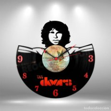 Discos de vinilo: RELOJ DE DISCO LP DE THE DOORS. Lote 253563895