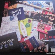 Discos de vinilo: SIMPLE PLAN - ADDICTED - SN - EDICION DEL AÑO 2003.. Lote 208699840