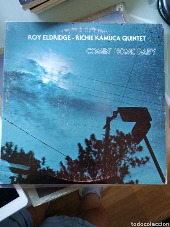 ROY ELDRIDGE - RICHIE KAMUCA QUINTET - COMIN' HOME BABY (PUMPKIN PRODUCTIONS - 107, US, 1978) (Música - Discos - LP Vinilo - Jazz, Jazz-Rock, Blues y R&B)