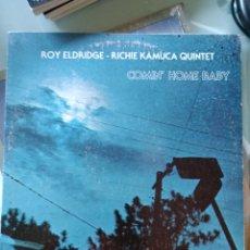 Discos de vinilo: ROY ELDRIDGE - RICHIE KAMUCA QUINTET - COMIN' HOME BABY (PUMPKIN PRODUCTIONS - 107, US, 1978). Lote 208699867