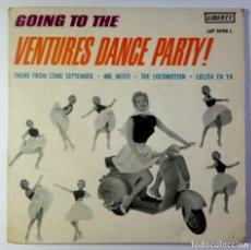 Discos de vinilo: THE VENTURES - GOING TO THE VENTURES DANCE PARTY - EP ESPAÑOL 1963 - LIBERTY / SURF / VESPA. Lote 208761725