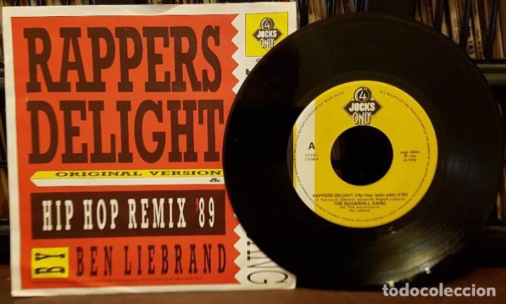 THE SUGARHILL GANG - PAPPERS DELIGHT - HIP HOP REMIX (Música - Discos - Singles Vinilo - Rap / Hip Hop)