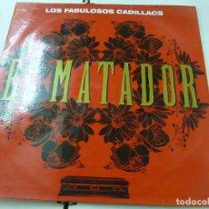 Discos de vinilo: LOS FABULOSOS CADILLACS - MATADOR - MAXI SINGLE - N. Lote 208769773