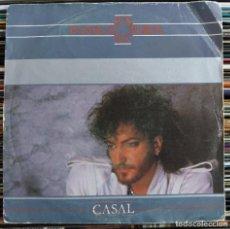 """Disques de vinyle: CASAL - PÁNICO EN EL EDÉN (7"""", SINGLE) (HARVEST) 006-1219867 (VG+). Lote 208771690"""