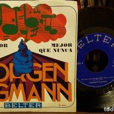Discos de vinilo: JORGEN INGMANN - EL CONDOR PASA - MEJOR QUE NUNCA. Lote 208776315
