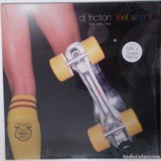 """Discos de vinilo: DJ FRICTION FT. DELLA - FEEL ALRIGHT [ US HIP HOP / RAP EDICIÓN EXCLUSIVA ] [MX 12"""" 33RPM]] [[2002]]. Lote 208776370"""
