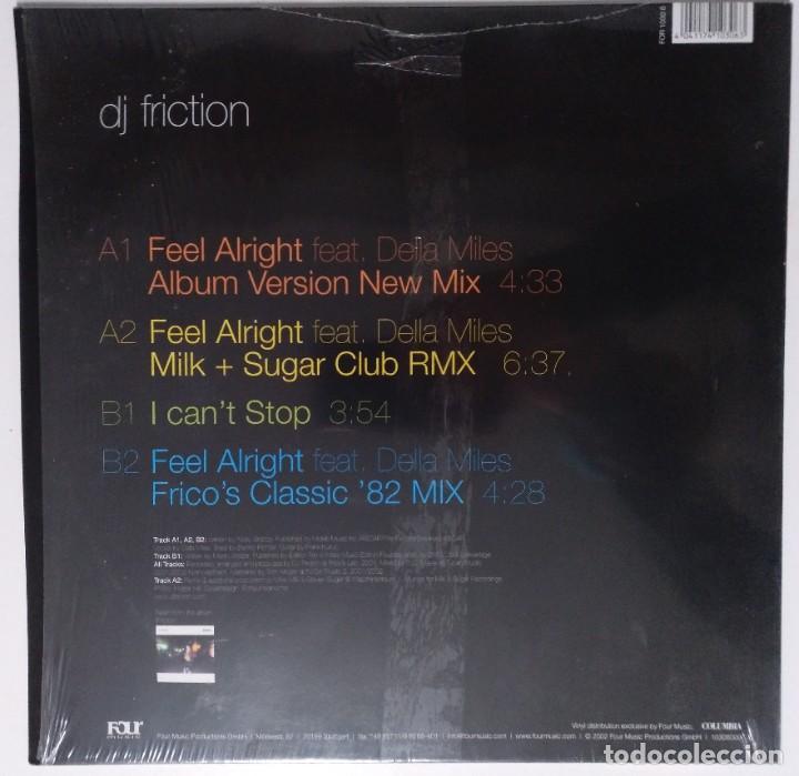 """Discos de vinilo: DJ FRICTION Ft. DELLA - FEEL ALRIGHT [ US HIP HOP / RAP EDICIÓN EXCLUSIVA ] [MX 12"""" 33RPM]] [[2002]] - Foto 2 - 208776370"""