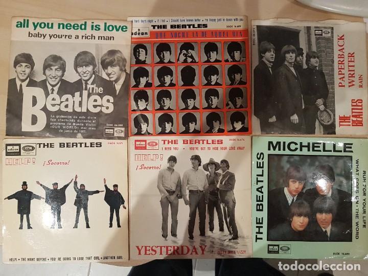 LOTE DE THE BEATLES 6 DISCOS - VER FOTOS (Música - Discos - LP Vinilo - Bandas Sonoras y Música de Actores )