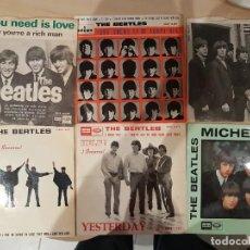 Discos de vinilo: LOTE DE THE BEATLES 6 DISCOS - VER FOTOS. Lote 208776910