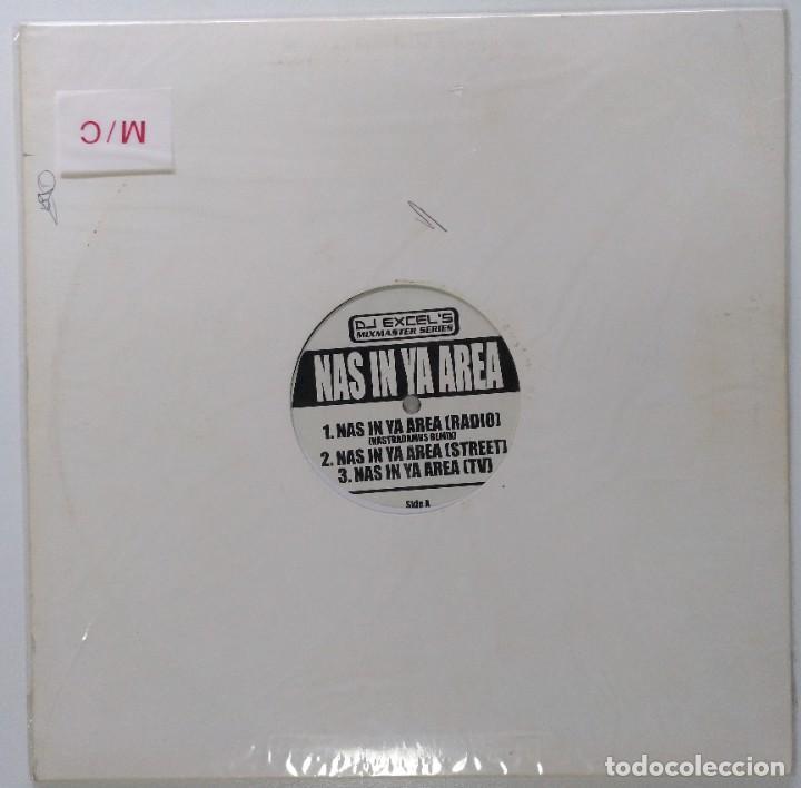 """Discos de vinilo: DJ EXCEL - NAS IN YA AREA / DIGGIN [ US HIP HOP / RAP EDICIÓN EXCLUSIVA ] [MX 12"""" 45RPM]] [[2002]] - Foto 2 - 208777885"""