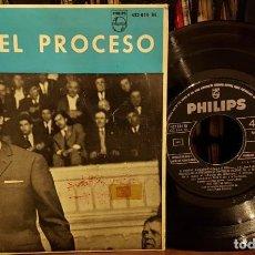 Discos de vinil: BANDA ORIGINAL DE ORSON WELLES EL PROCESO. Lote 208778458