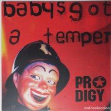 """Discos de vinilo: PRODIGY - BABY'S GOT A TEMPER [ UK ELECTRONICA EDICIÓN EXCLUSIVA ] [[MX 12"""" 45RPM]] [[2002]]. Lote 208779180"""