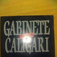 Dischi in vinile: GABINETE CALIGARI (SOLO SE VIVE UNA VEZ). Lote 208820413