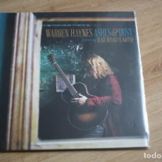 Discos de vinilo: WARREN HAYNES. ASHES & DUST, RAILROAD HEARTH, DOBLE LP, GATEFOLD, 2015. Lote 208821638