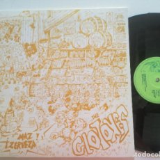 Discos de vinilo: LOS GLOTONES - MAZ ZERVEZA +3 - MAXI SINGLE TRILITA 1990 // ROCK SEVILLANO ARAHAL. Lote 208822925