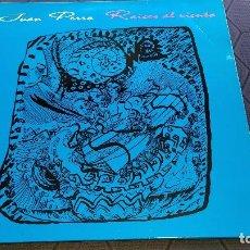 Discos de vinilo: JUAN PERRO (RADIO FUTURA) - RAÍCES AL VIENTO - EDICIÓN DE 1995 DE ESPAÑA. Lote 208831400