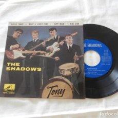 Discos de vinilo: THE SHADOWS 7´EP GUITAR TANGO + 3 TEMAS (1962) * PRIMERA EDICION ORIGINAL ESPAÑA* BUENA CONDICION. Lote 208832936