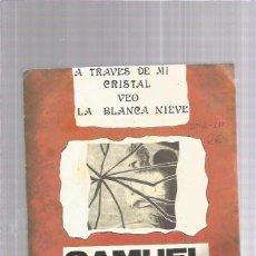 Discos de vinilo: SAMUEL LA BLANCA NIEVE. Lote 208836787