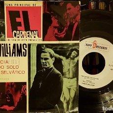 Discos de vinilo: TEMA PRINCIPAL EL CARDENAL - ROGER WILLIANS - FELICIA - PASEANDO SOLO. Lote 208862513