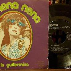Discos de vinilo: REMENA NENA - LA GUILLARMINA. Lote 208864420