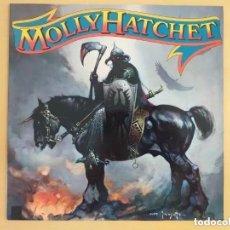 Discos de vinilo: MOLLY HATCHET - MOLLY HATCHET (LP) PROMO !!!!!. Lote 208865510