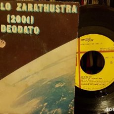 Discos de vinilo: ASI HABLO ZARATHUSTRA 2001 DEODATO. Lote 208865813